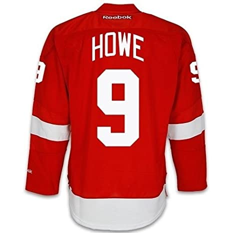 633804ca Detroit Red Wings VINTAGE Gordie HOWE #9 *C* Official Home Reebok NHL  Hockey Jersey (SEWN TACKLE TWILL NAME / NUMBERS): Amazon.ca: Sports &  Outdoors