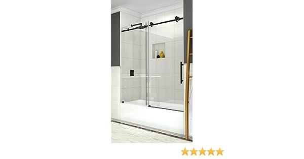 Aston tdr984ez-ch-60 – 10 Coraline sin marco puerta corredera bañera: Amazon.es: Bricolaje y herramientas