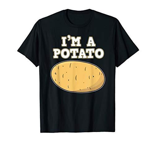 I'm A Potato Shirt Potatoes Crisps Funny Cute Tee (Best Potatoes For Crisps)