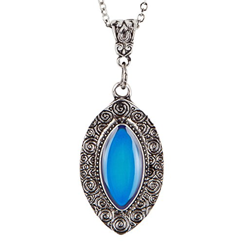 Majestic Nickel Pendant - SPUNKYsoul New! Vibrant Colored Mood Necklace for Women Collection…
