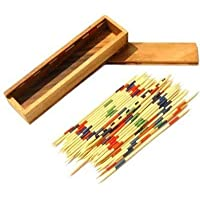 Creative Kids Mikado Wooden Sticks Game | Fun Family Indoor Board Game for Kids and Adults (Pack of 1)