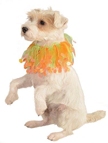 Rubies Halloween Orange Pumpkin Collar