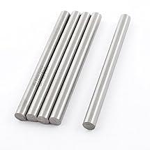 5Pcs 8mmx100mm HSS Straight Machine Boring Tool Round Lathe Bar Rod