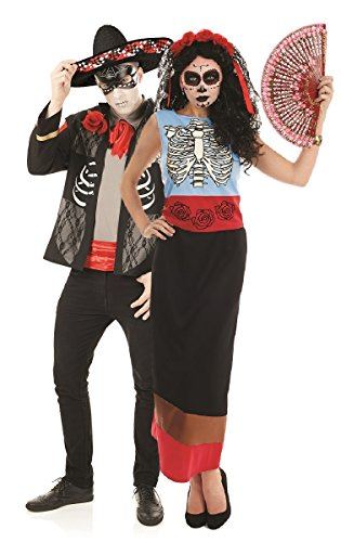 Couples Day of The Dead Senor & Senorita