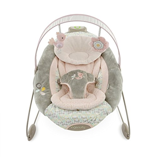 2-Speed Variable Automatic Bouncer with 2 Plush Toys by Ingenuity