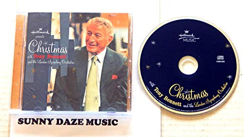 Christmas With Tony Bennett - Hallmark Music 2002 - A Used CD Album - 2002 Pressing EDM7009-2 - The First Noel - Coventry Carol - Oh Come All Ye Faithful - Angels We Have Heard On High