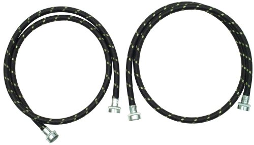 Whirlpool 8212487RC 5-Foot Industrial Braided Washer Fill Hose, 2-Pack