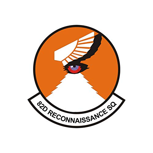 82nd Reconnaissance Squadron Patch - Wall Decal - Variety of Sizes Available