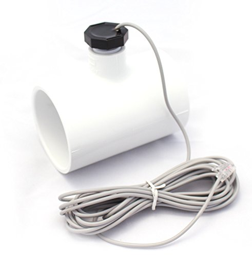 Optimum Pool Technologies Flow Switch Assembly with PVC Pipe Tee Replacement Kit for Hayward Salt Chlorine Generators