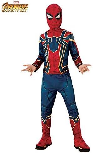 DISBACANAL Disfraz Spiderman Infinity War Infantil - -, 8-10 años ...