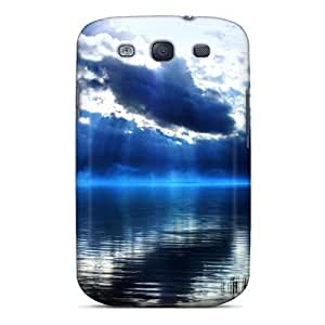 For Galaxy Case, High Quality Trihonida Lake For Galaxy S3 Cover Cases by icecream design