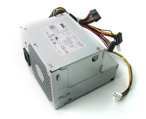 255 Brick - Genuine Dell 255W Power Supply PSU for the Optiplex 760 and 960 Desktop System. RM110, FR597, CY826, WU123, F255E-01, D255P-00