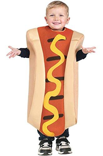 [Mememall Fashion Hallowiener Hot Dog Funny Toddler Costume] (Hot Dog Costume Women)