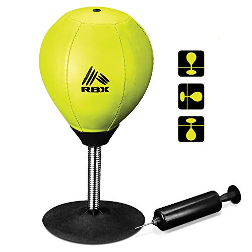 RBX Knock Out Stress Punching Bag for Desktops, Counters, and Tables
