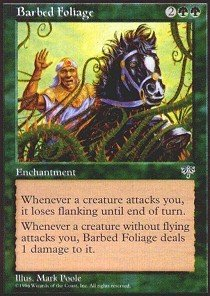 Magic: the Gathering - Barbed Foliage - Mirage