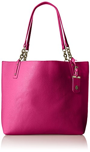 Tommy Hilfiger Travel Tote Bag for Women Gabby, Geranium-Patent