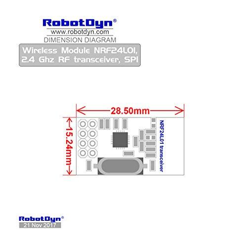 robotdyn  u2013 nrf24l01  wireless module  2 4 ghz rf