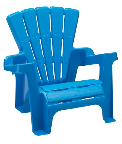 amazon com american plastic toy adirondack chair blue toys games