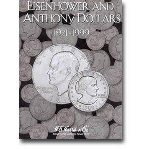 Harris Eisenhower & Anthony Dollars 1971-1999 Coin Folder 2699 - 729440984052 by H.E. ()