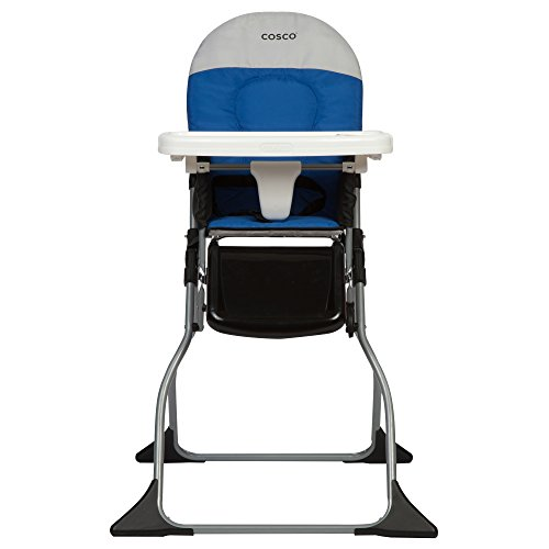 Cosco Simple Fold High Chair, Colorblock Surf The Web