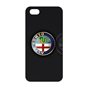 Fortune Unique car logo Alfa Romeo Phone case for iPhone 5s