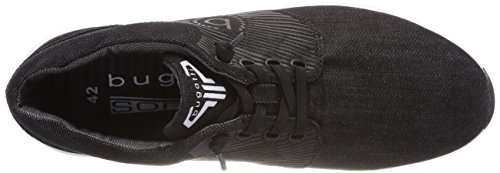 Bugatti Herren 341483016900 Sneaker Schwarz (Schwarz)