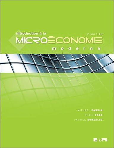 Télécharger des ebooks italiens gratuitement Introduction à la microéconomie moderne 4e édition PDF 2761330730 by Patrick Gonzalez