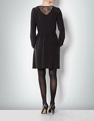 KOOKAI Dress Schwarz 40 Größe Unifarben Farbe Damen Kleid Seide rwPzBqntr6