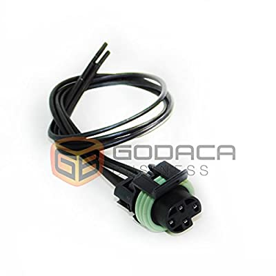 1x Connector 4-way 4 pin for Oil Pressure Sensor Gm PT149: Automotive