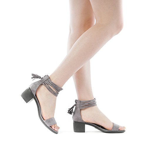 053c22d2fee Jual TOETOS Women s Ivy Fashion Block Heel Sandals - Heeled Sandals ...