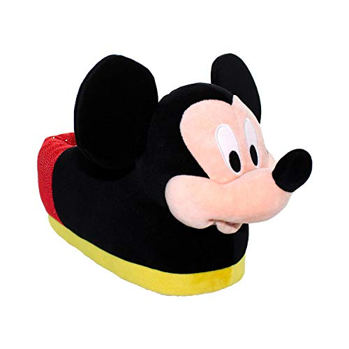 7008-4 - Disney Mickey Slippers - X-Large/XX-Large - Happy Feet Mens and Womens Slippers