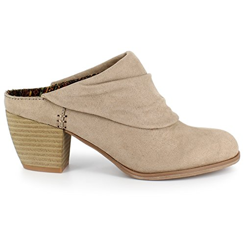High Light Women's Mules Taupe Moxy Dolce by Heel Mojo Nino 14q4XP