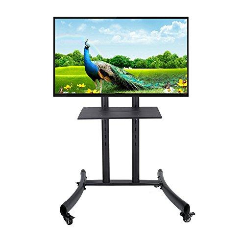 CO-Z Mobile TV Cart for Flat Screen Panel LED LCD