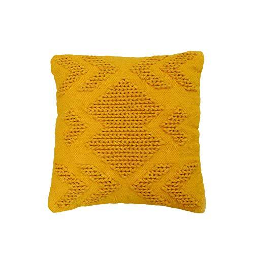 20X20 Hand Woven Nia Pillow ()