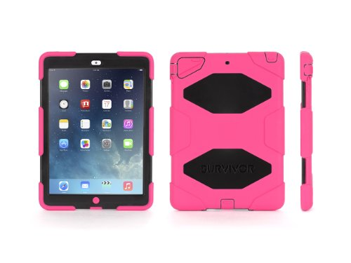 Griffin iPad Air Rugged Case, Survivor All-Terrain plus Stan