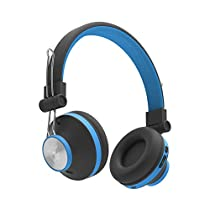 Ant Audio Treble H82 On-Ear Bluetooth Headphones with Mic (Blue)