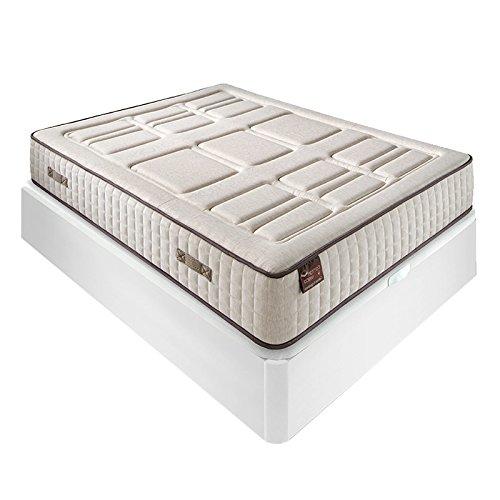 Pack Colchón Cotton + Abatible Madera - Roble, 150x190cm: Amazon.es: Hogar
