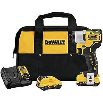 Amazon.com: DEWALT Kit de destornillador de impacto ...