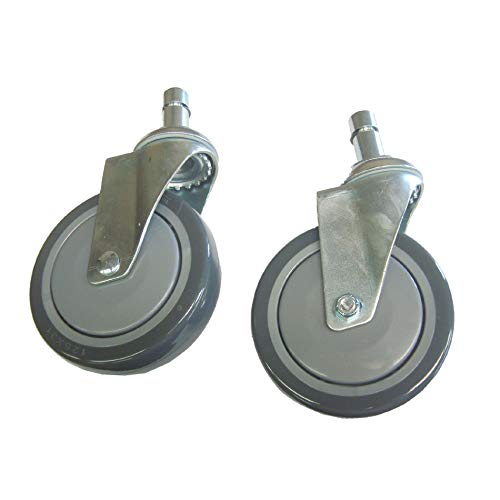 Everest & Jennings Shower Commode Casters, Pair