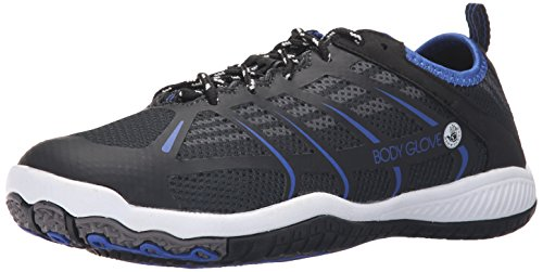 Body Glove Men's Dynamo Rapid Water Shoe, Black/Blue/White, 12 M US