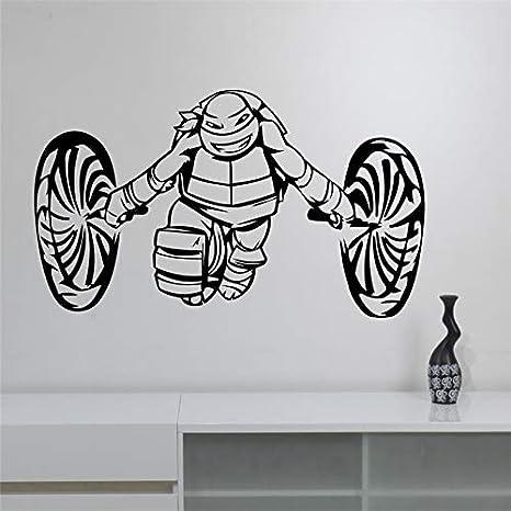 Tortugas ninja tatuajes de pared para niños dormitorio ...