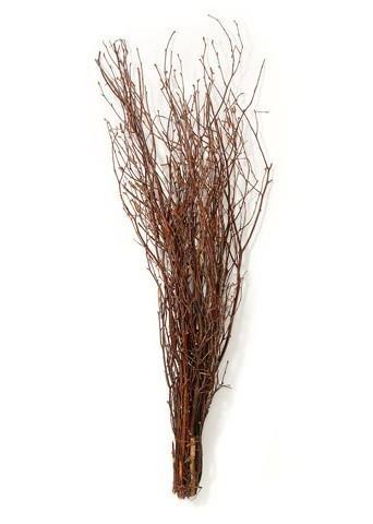 Afloral Natural Dried Grapevine Twig Bundle in Brown - 36