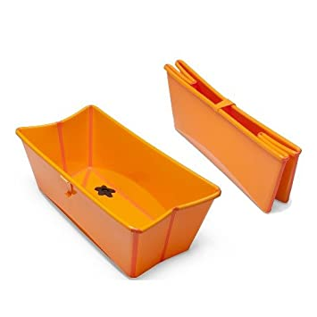Amazon.com : Stokke Flexi Bath - Foldable Baby Bath Tub for ...