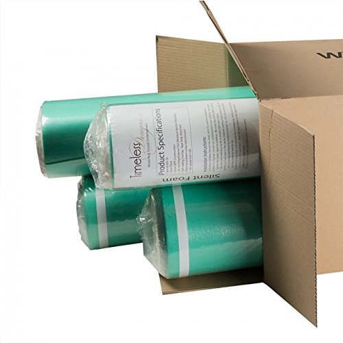 Timeless Designs Super Premium EVA Foam Underlayment | 3mm 400sf Contractor's Box