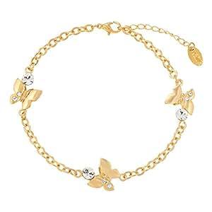 Venus Accessories Women's Gold Plated Alloy Bracelet