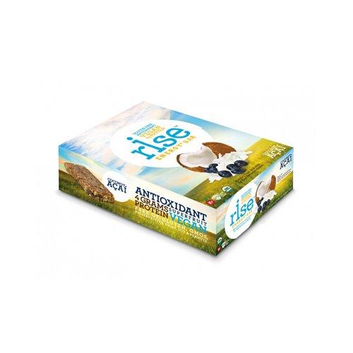 New - Rise Bar Energy Bar - Organic Coconut Acai - Case of 12 - 1.6 oz