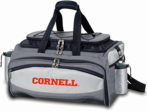 (PICNIC TIME NCAA Cornell Big Red Embroidered Vulcan Set, One Size, Black)