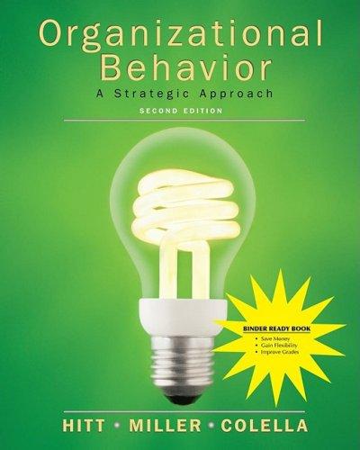Ebook Organizational Behavior Binder Ready Version