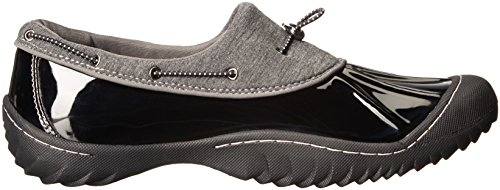 JBU by Jambu Womens Tula Flat Black MHLzDo