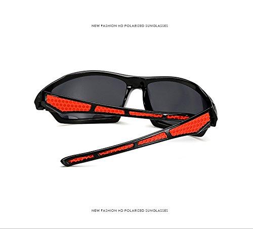 del Montar del Parabrisas Inovey del Polarizador Hombres Brillante Marco del Té Aire Libre Gafas Té té Té marco 1019 Al Estilo brillante De HFqHY